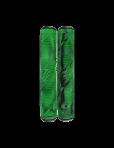 STRIKER LOGO GRIPS BLACK AND GREEN