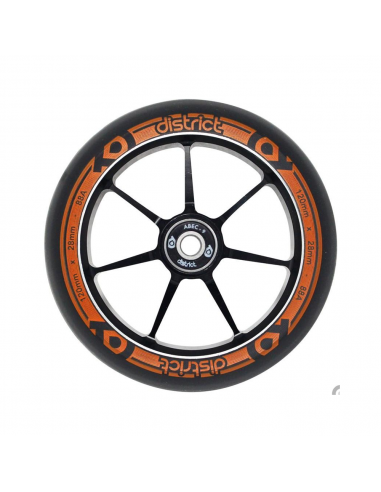DISTRICT W120 WHEEL BLACK