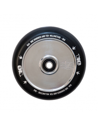 BLUNT HOLLOW CORE 110 WHEEL POLISHED