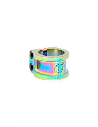 OATH CAGE DOUBLE CLAMP NEOCHROME