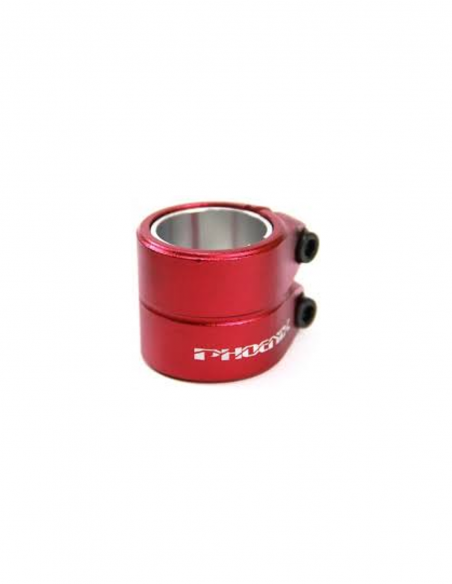 PHOENIX SMOOTH CLAMP RED