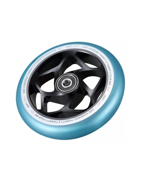 BLUNT GAP CORE WHEEL 120 BLACK TEAL